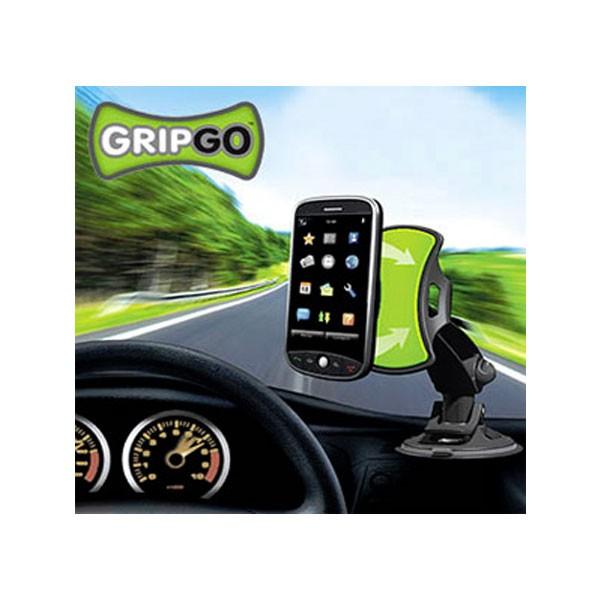 Βάση Αυτοκινήτου Universal GripGO Μαύρη Συμβατή