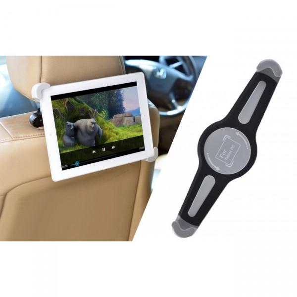 Περιστρεφόμενη βάση για στήριξη tablet 7''-10.1'' στο προσκέφαλο του καθίσματος αυτοκινήτου