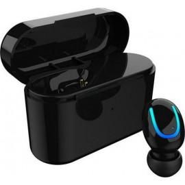 HBQ - Q26 Ακουστικό Bluetooth με ένα ακουστικό + Μπαταρία Μαύρο
