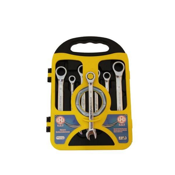 Κλειδιά καστάνιας με σπαστό λαιμό σετ (7τεμ.) 8mm – 10mm – 12mm – 13mm – 14mm – 17mm – 19mm, code 002