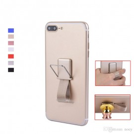 Magnetic Function Grip&Stand For Smartphones and Tablets  Gold (oem)