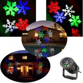 Νυχτερινός διακοσμητικός γιορτινός φωτισμός με 2 διαφορετικά θέματα