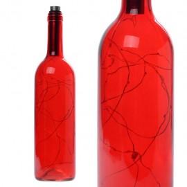 Φωτιστικό σε Μπουκάλι Κρασιού με LED - Κόκκινο