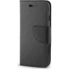 Samsung Galaxy A5 2018 BookStyle Fancy Case Μαύρο ..