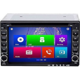 "MP5 2 Din Android με LCD 6.2"", Bluetooth, CD/DVD, GPS και χειριστήριο  51364"