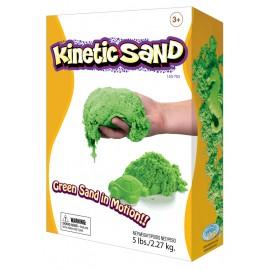 Wabafun Kinetic Sand – Πράσινο χρώμα 2270 γραμ C02G0650016
