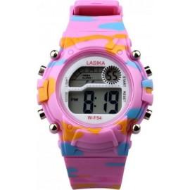 Ψηφιακό ρολόι χειρός – Lasika – W-F54 - 451278 Ροζ..