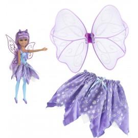 colorbaby - Κούκλα Νεράιδα και Σετ Φούστα με Φτερά C02G0190337