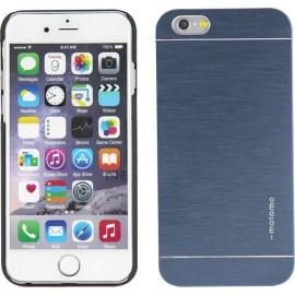 iPhone 6 Plus - θήκη Αλουμινίου Μπλε Ανθρακί Motomo