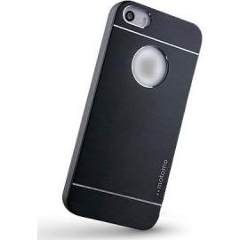 Motomo Aluminium Back Cover Mαύρη (iPhone 6/6s Plus)