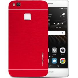 Huawei P9 Lite - Θήκη Αλουμινίου Κόκκινο Motomo