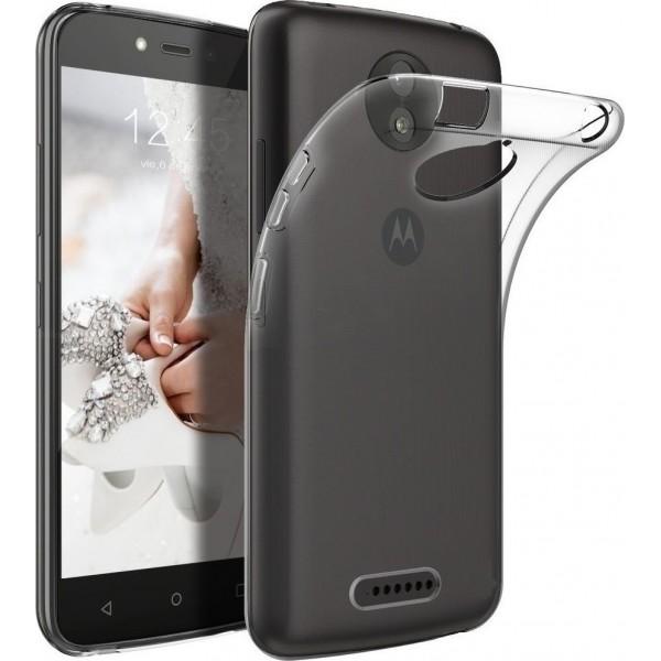 OEM Back Cover Σιλικόνης Διάφανο (Moto G5s Plus)