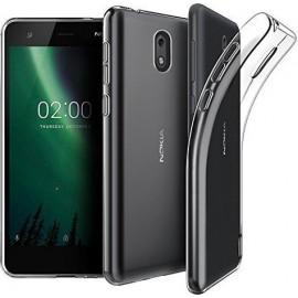 OEM Back Cover Σιλικόνης 0.3mm Διάφανο (Nokia 3.1)