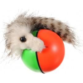 Beavers ball Rolling Motor Ball Pet Cat Dog Kids Toys Chaser