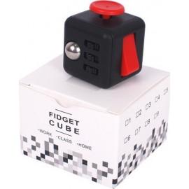 Anti Stress Fidget Cube 6 Sides Μαύρο