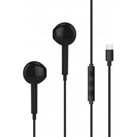 Ακουστικά Handsfree OEM Type-C Μαύρο