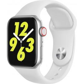Fitness Smartwatch Z15 με Μέτρηση Πίεσης, Καρδιακούς Παλμούς & Αθλήματα Λευκό