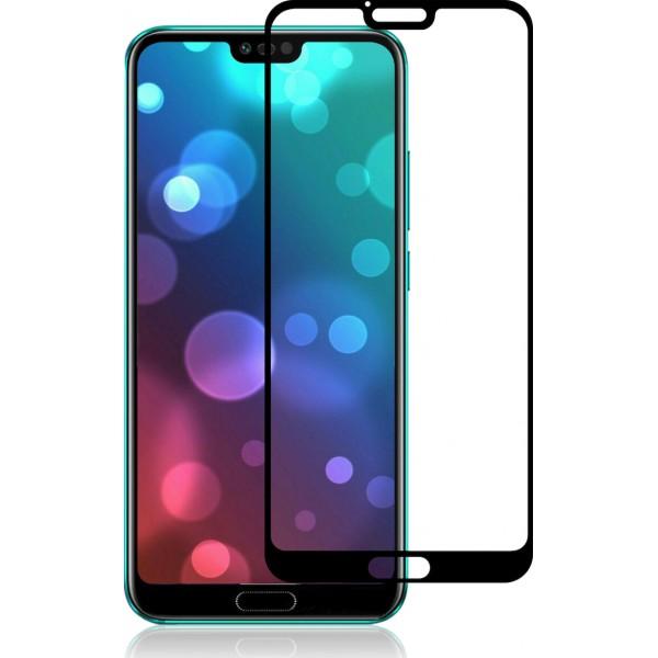 Full Face Tempered glass / Αντιχαρακτικό Γυαλί Πλήρους Οθόνης Huawei Honor 10 Μαύρο