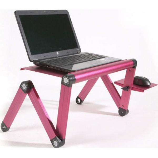Τραπεζάκι - Βάση Laptop Smart Foldable Τ8 Table Φούξια