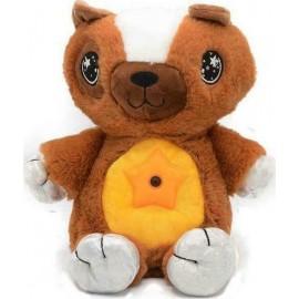 Star Belly Dream Lites Νυχτερινό φως καφέ αρκούδα