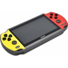 Andowl Gaming Κονσόλα Q-A32 Κίτρινο/Κόκκινο Με Κλασικά Παιχνίδια 8GB