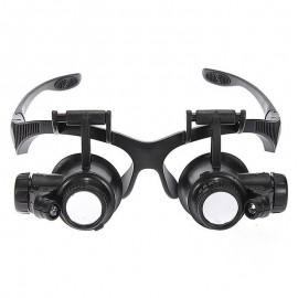 Γυαλιά - μεγεθυντικός φακός κεφαλής με ζουμ 25x και φωτισμό LED GL-25130