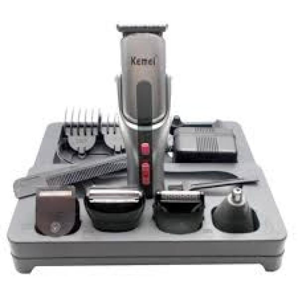 Κουρευτική Μηχανή Kemei KM-680A για Μαλλιά και Γένια (8 σε 1)
