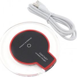 Fantasy QI Wireless Ασύρματη Βάση Φόρτισης για Samsung (CE/RoHS Certification) - Μαύρο