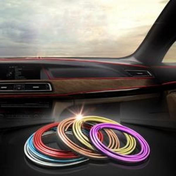 Διακοσμητική Ταινία Neon Εσωτερικός Φωτισμός Αυτοκινήτου 12V 100εκ.