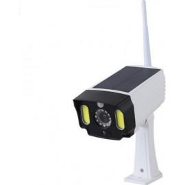 CTK-PS-T28-OEM Αδιάβροχη Ηλιακή Ψεύτικη Κάμερα Ασφαλείας με Φωτιστικό LED