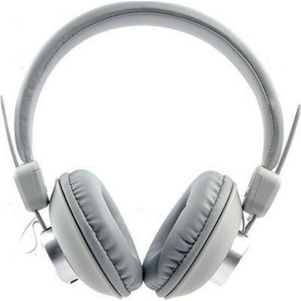 Elmcoei ev10 Αναδιπλούμενα Ενσύρματα Στερεοφωνικά ακουστικά  Άσπρο