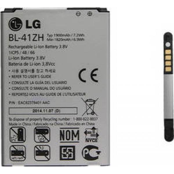 Μπαταρία LG BL-41ΖΗ 1900mAh H320 Leon, D290 L Fino original BULK