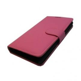 Alcatel C3 θήκη πορτοφόλι & stand Μαύρο