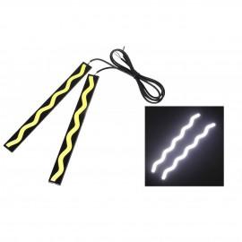Αδιάβροχα COB LED προβολάκια αυτοκινήτου 6W / 12V - Λευκό φως