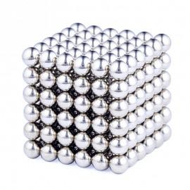 125 Τρελομαγνήτες - Μαγνητικός Κύβος από μαγνητικές μπίλιες για τρισδιάστατα πάζλ