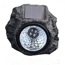 Διακοσμητικό ηλιακό φώς 4 led σε σχήμα πέτρας