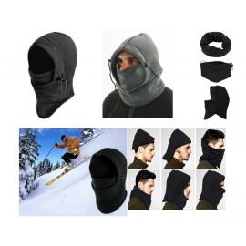 Ζεστή Κουκούλα Fleece 6 σε 1 για Sports, Μηχανή & το Κρύο ΟΕΜ