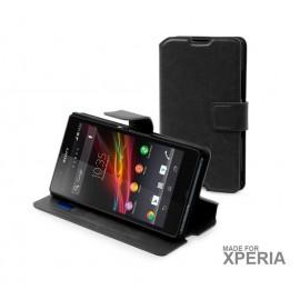 Sony Xperia E1 θήκη πορτοφόλι & stand