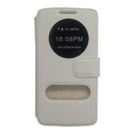 LG G3 θήκη call display & stand Άσπρο