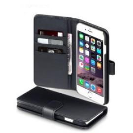 i-Phone 7 θήκη πορτοφόλι & stand Μαύρο