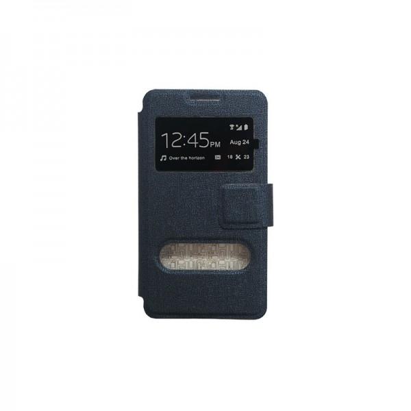 Samsung Galaxy S7 Edge θήκη call display & stand Μαύρο