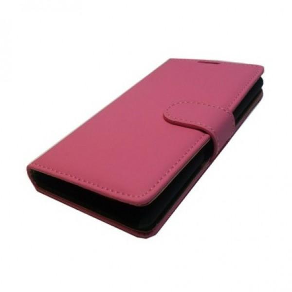 Alcatel C5 θήκη πορτοφόλι & stand Μαύρο