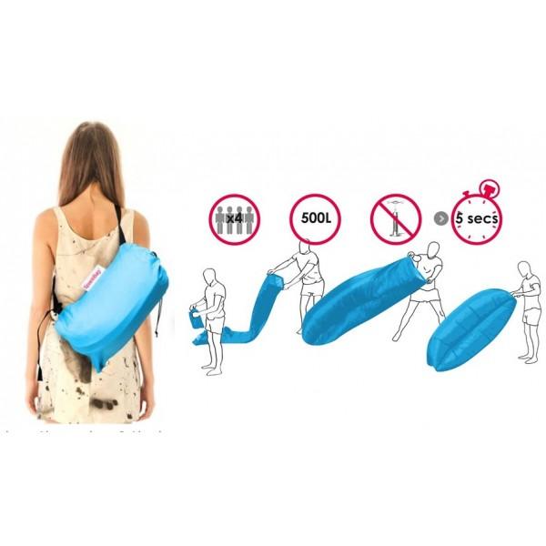 Air Bag Φουσκωτός καναπές παραλίας 15617 Blue