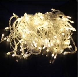 80 Λαμπάκια LED με 8 Προγράμματα Φωτισμού και Λευκό Καλώδιο