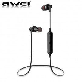 AWEI A960BL Bluetooth V 4.0 Sport Headset μαύρου χρώματος