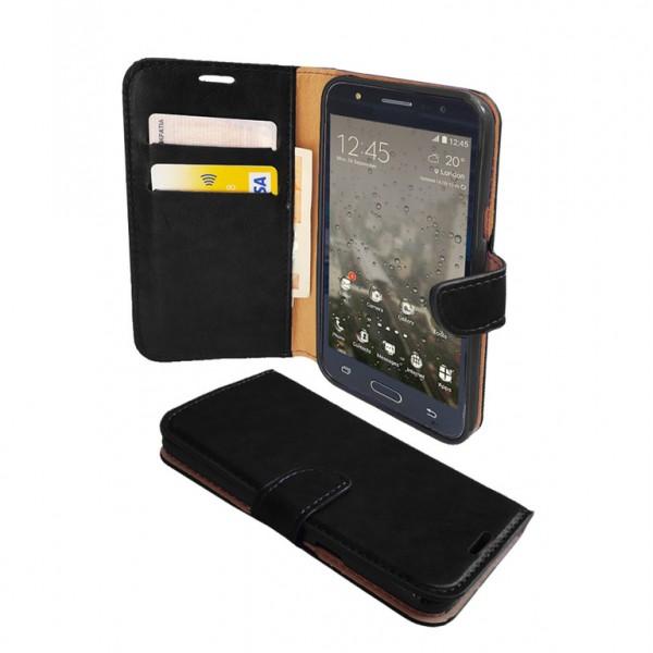 Xiaomi Redmi Note 4X θήκη πορτοφόλι Μαύρο