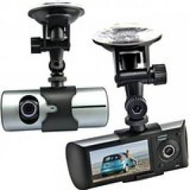 DVR με GPS Διπλή Κάμερα αυτοκινήτου DVR300