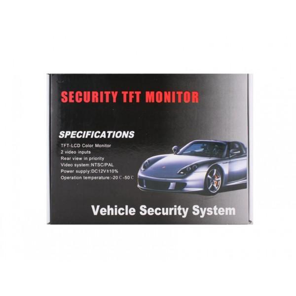 "4.3"" TFT Οθόνη ασφαλείας αυτοκινήτου (800 x 480 pixels)"