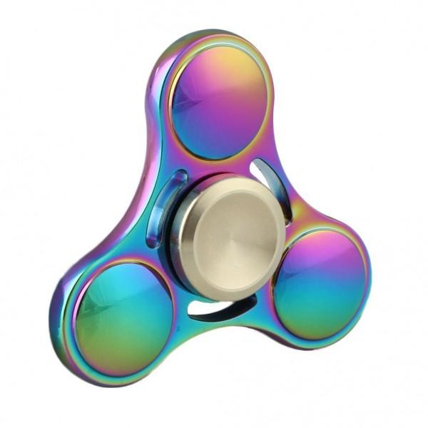 Fidget Spinner Titanium Alloy Three Leaves 8 minutes