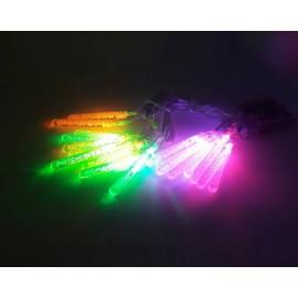 Φωτάκια Mετεωρίτες Mπαταρίας 3,8m
